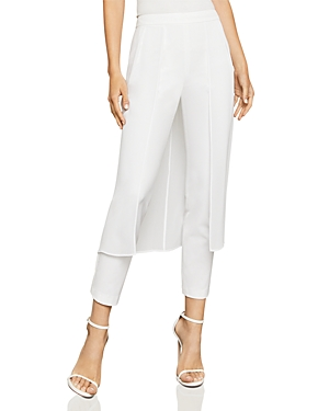 Bcbgmaxazria Overlay Tapered Pants
