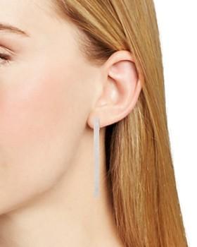 kate spade new york - Marled Hoop Earrings