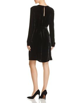 Theory - Belted Velvet Dress