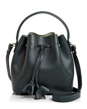 Celine Lefebure - Karin Small Drawstring Leather Bucket Bag - 100% Exclusive