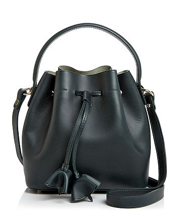 Celine Lefebure - Karin Small Drawstring Leather Bucket Bag - 100% Exclusive