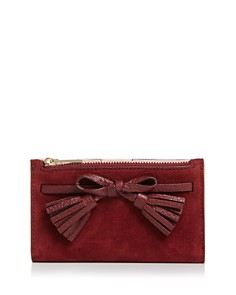 kate spade new york - Hayes Street Suede & Leather Wallet