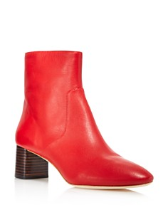 Loeffler Randall - Women's Gema Pointed Toe Leather Booties