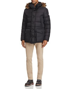 Moncler - Cluny Hooded Jacket, Flag Ringer Tee & Skinny Fit Pants