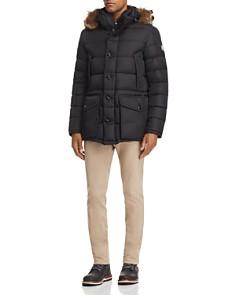 Moncler - Cluny Hooded Jacket, Flag Ringer Tee & Skinny Fit Pants
