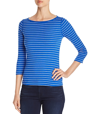 Three Dots British Striped Tee