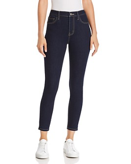 Current/Elliott - The Stiletto High-Rise Ankle Skinny Jeans in 0 Clean Stretch Indigo