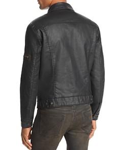John Varvatos Star USA - Sherpa-Lined Coated Denim Jacket - 100% Exclusive