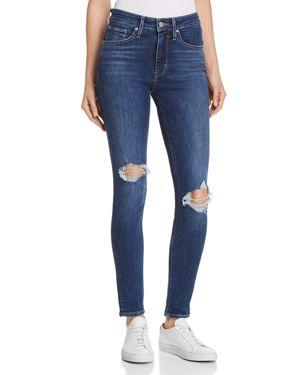 721 High Rise Skinny Jeans In Indigo Luna