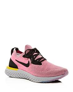 Nike - Women's Epic React Flyknit Lace-Up Sneakers