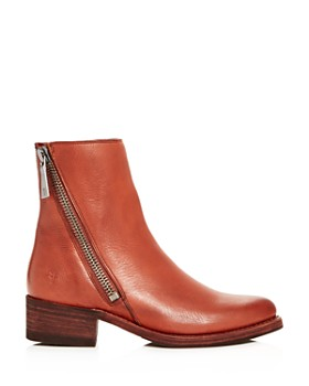 Frye - Women's Demi Leather Block-Heel Booties