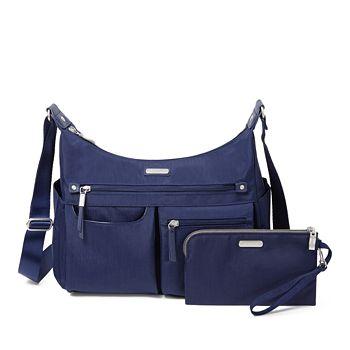 Baggallini - Classic Anywhere Large Hobo Bag with RFID Phone Wristlet