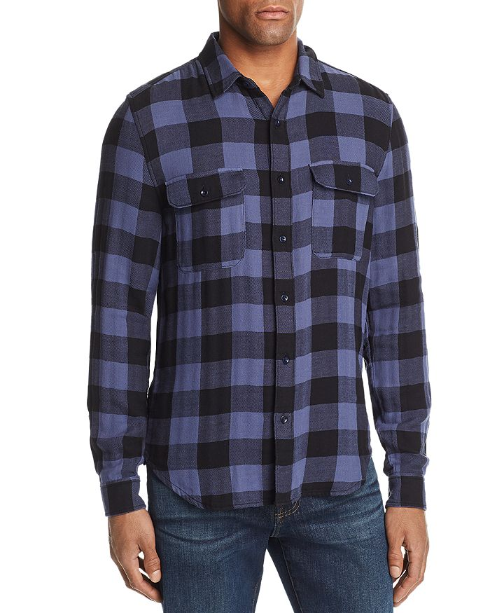 7 For All Mankind - Buffalo Check Regular Fit Western Shirt