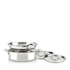 All-Clad - d3 Compact 5-Piece Set