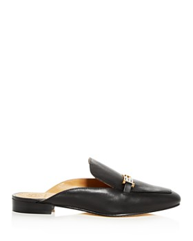 Tory Burch - Women's Amelia Leather Apron Toe Loafer Mules