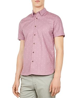 Ted Baker Ktale Cocktail Print Regular Fit Sport Shirt