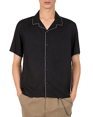 The Kooples 21 Piped Camp Shirt