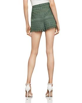 BCBGMAXAZRIA - Scalloped Lace Shorts