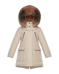 Moncler - Girls' Marion Fur-Trimmed Down Parka - Big Kid