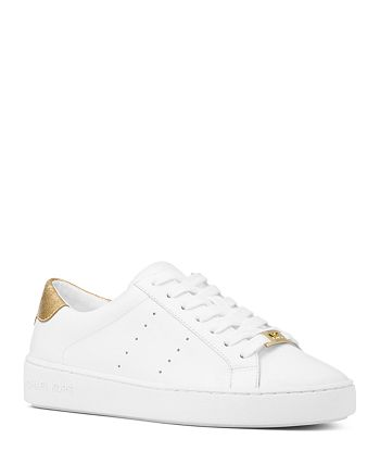 4f6606b16d99 MICHAEL Michael Kors Women s Irving Lace Up Leather Sneakers ...