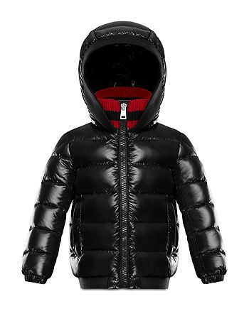 32bf75317 Moncler Boys  Aubrack Puffer Jacket with Knit Collar - Little Kid ...