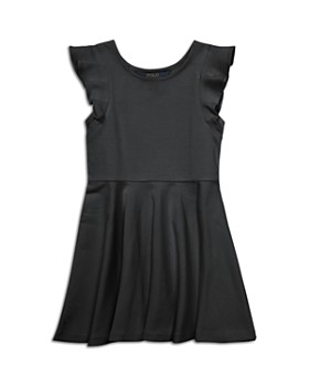 Polo Ralph Lauren - Girls' Ruffled Ponte Dress - Little Kid