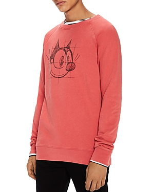 Scotch & Soda Felix The Cat Graphic Sweatshirt