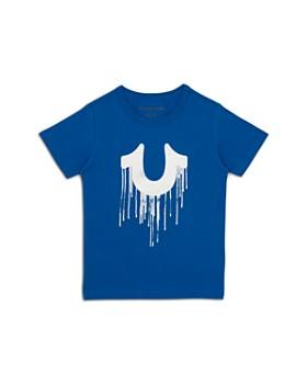 c527cb4d18 True Religion - Boys  Dripping Horseshoe Graphic Tee - Little Kid