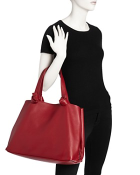 Callista - Iconic Knotted Medium Leather Tote