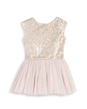 Pippa & Julie - Girls' Sequin Tutu Drop Waist Dress - Little Kid