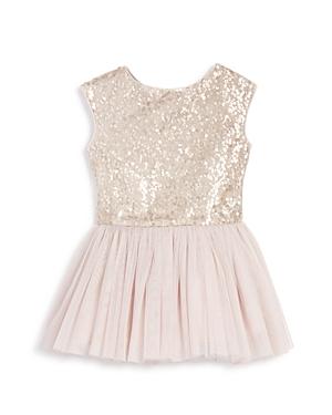 Pippa & Julie Girls' Sequin Tutu Drop Waist Dress - Little Kid