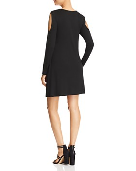 Robert Michaels - Long-Sleeve Cold-Shoulder Dress