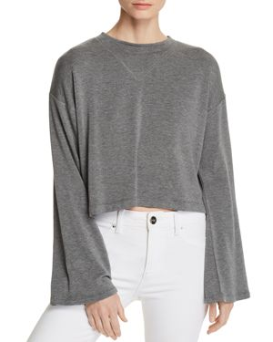 LNA ABBY CROPPED SWEATER
