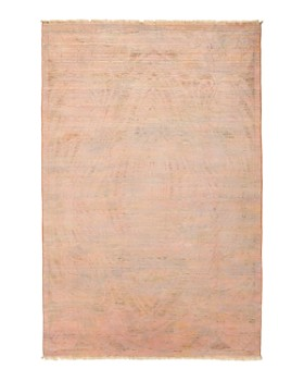 """Bloomingdale's - Vibrance 51 Hand-Knotted Area Rug, 4' 1"""" x 6' 2"""""""