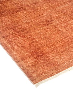 """Solo Rugs - Vibrance 59 Hand-Knotted Runner Rug, 3' 1"""" x 11' 6"""""""