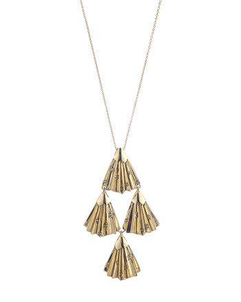 "Alexis Bittar - Swarovski Crystal-Accent Articulating Pendant Necklace, 32"""