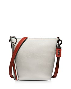 COACH Coach 1941 Small Color-Block Pebble Leather Crossbody - Bloomingdale's_0