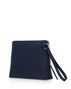 VASIC - Steady Large Wristlet Leather Clutch