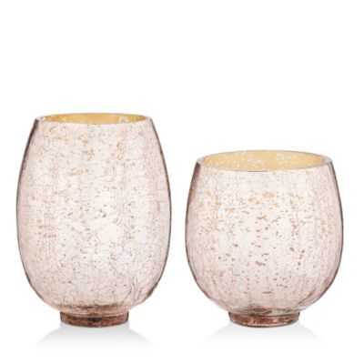 Mulled Wine Small Crackle Glass Candle