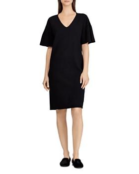 Ralph Lauren - Ruffle-Sleeve Sweater Dress