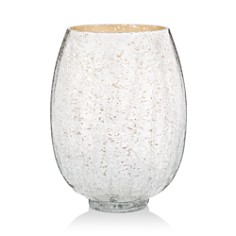 Illume - Balsam & Cedar Large Crackle Glass Candle