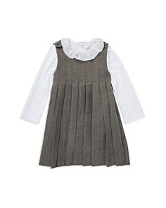 Ralph Lauren - Girls' Pleated Dress & Bodysuit Set - Baby