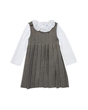 Ralph Lauren Girls Pleated Dress  Bodysuit Set  Baby