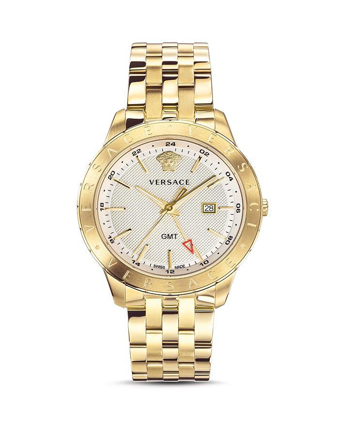Versace - Business Slim Gold Watch, 43mm