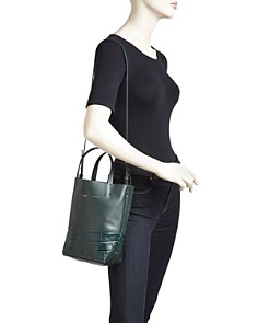 Alice.D - Small Croc-Embossed Leather Tote - 100% Exclusive