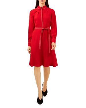 HOBBS LONDON NANCY SHIRT DRESS