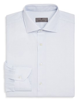 Canali - Impeccabile Grid Regular Fit Dress Shirt