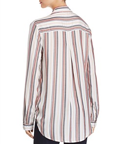 BeachLunchLounge - Striped Button-Down Shirt