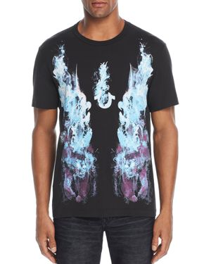 True Religion Fire Panther Graphic Tee
