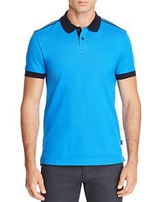 BOSS Phillipson Piqué Color-Block Polo Shirt - Bloomingdale's_0